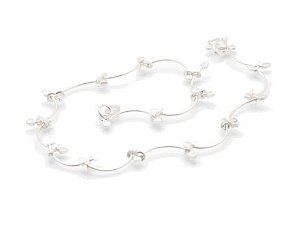 "Sterling Silver 9"" Anklet AKSS27"
