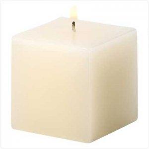 #39230 Ivory Vanilla Cube Pillar
