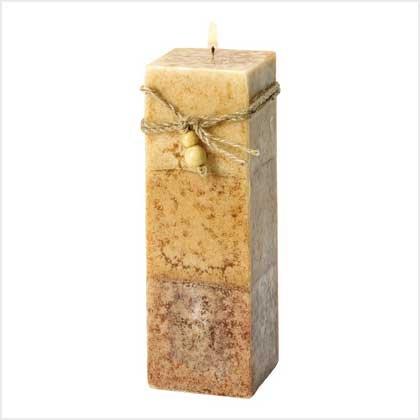#39243 Rustic Wood Squared Pillar