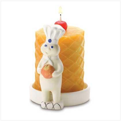 #38534 Pillsbury Doughboy Candle
