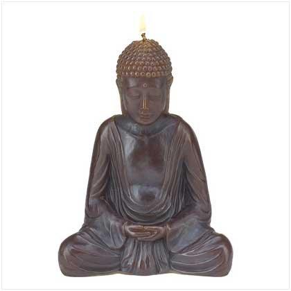 #39240 Resting Buddha Candle