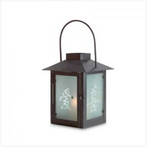 #30683 Chinese Character Candle Lantern