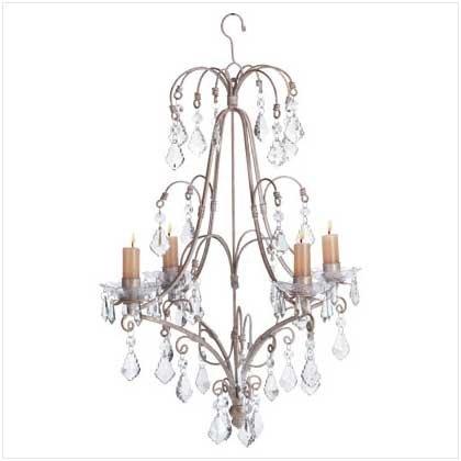 #33001 Elegant Candle Chandelier