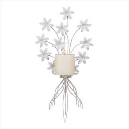 #32033 Bouquet Candle Sconce
