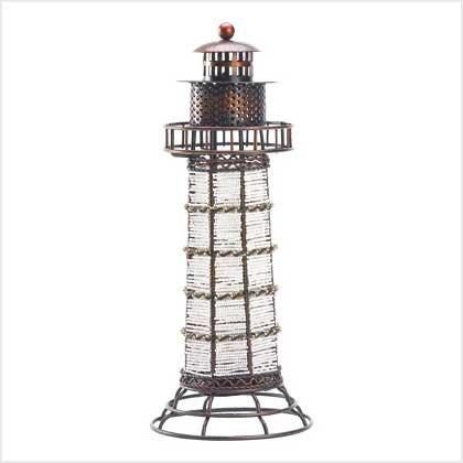 #39067 Beaded Lighthouse Lantern