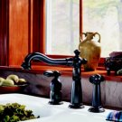 Victorian Single Handle Kitchen Faucet