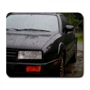 Mousepad Black Rain Corrado VW volkswagen VR6 FREE SHIPPING