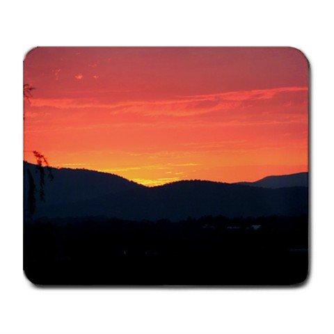 Mousepad FREE SHIPPING sunset mountains