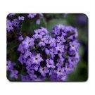 Mousepad FREE SHIPPING tiny purple flowers