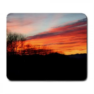Mousepad FREE SHIPPING COLD SUNSET