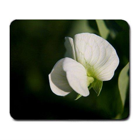 Mousepad FREE SHIPPING White sweet Pea