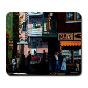 Mousepad FREE SHIPPING mural 50's