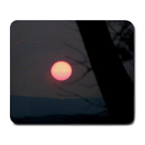 Mousepad FREE SHIPPING sunset behind tree