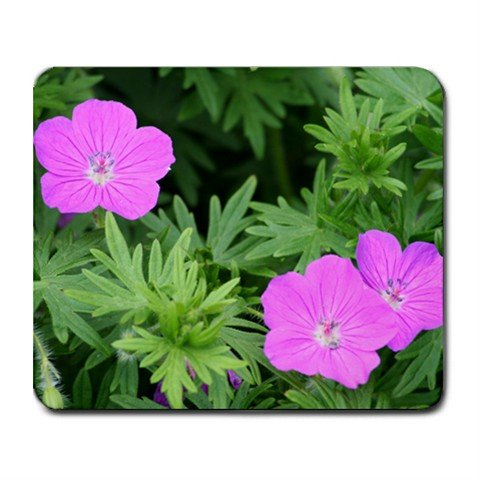 Mousepad FREE SHIPPING small purple flowers