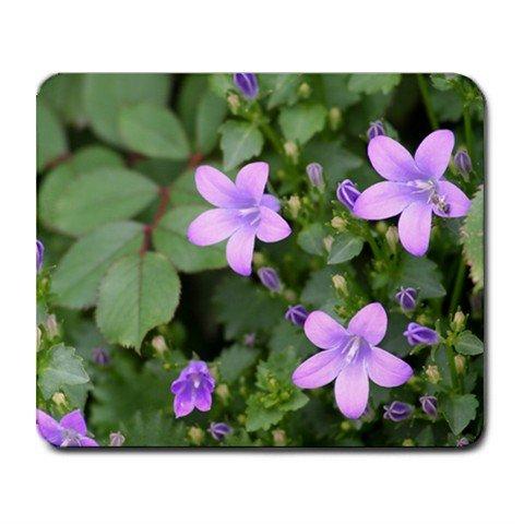 Mousepad FREE SHIPPING small purple flowers star shaped