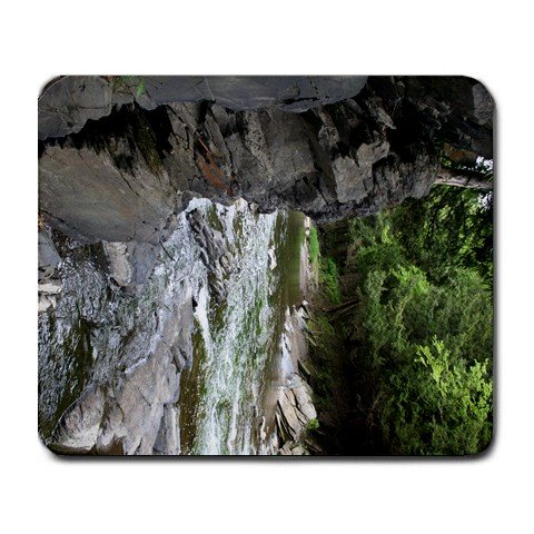River in Woods, Rock ledge Amazing Summer Mousepad  NEW   Free shipping