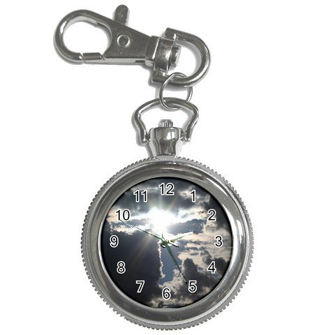 Pocket Watch Sky and Clouds