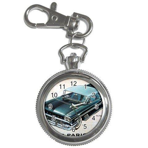 Pocket Watch Classic Car! Blue Nice Look