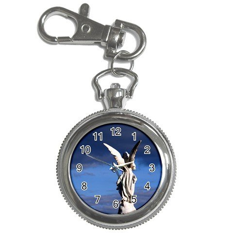 Pocket Watch Painted Angel Sky