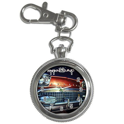 Pocket Watch 1958 Pontiac Classic Car and more Mustang etc