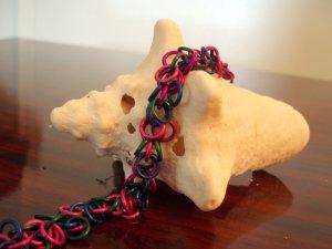 Handmade Shaggy Loops Bracelet