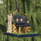 Handcrafted Log Cabin Birdhouse