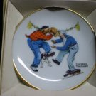 Norman Rockwell Mini Plate