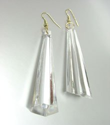 EARRINGS - CLEAR