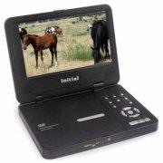 Initial IDM750DX Portable DivX DVD Player 7 inch Screen