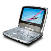 Coby TFDVD7333 7 Inch TFT Portable DVD Player With Swivel Screen