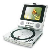 Coby TF-DVD5000 5 Inch Portable DVD Player, Swivel Screen