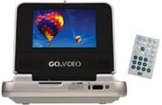 GO.VIDEO Portable DVD Player with 5-Inch LCD