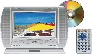 JWIN 8.4 Inch Portable TV, DVD and CD Player with LCD