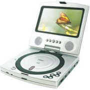 """6.2"""" TFT PORTABLE DVD PLAYER WITH SWIVEL SCREEN"""