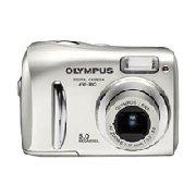 Olympus FE-110 - 5.0 Megapixel Digital Camera with 2.8 x Optical 4x Digital Zoom