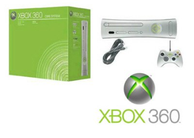 Xbox 360 Core Console Video Game System - SOLD OUT FOR THE TIME BEING