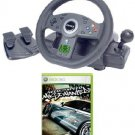 JOYTECH Nitro Racing Wheel for Xbox 360 + Need For Speed Xbox 360