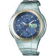 Casio Waveceptor Atomic Solar Watch WVA510SGA-9AV Blue Dial Mens Analog Digital