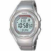 Casio Silver Waveceptor Watch