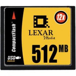 512MB High Speed 12X CompactFlash Card