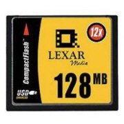128MB High Speed 12X CompactFlash Card