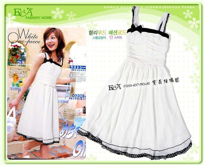 Stunning and SEXY Summer Fashion White Dress