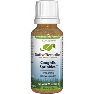 CoughEx Sprinkles - Homeopathic medicine for barking cough, wheezing and hoarse voice in children