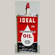 Ideal Household Oil, Handy Oiler, 4 oz. NOS