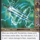 WoW World of Warcraft TCG -- Thunderfury, Blessed Blade of the Windseeker
