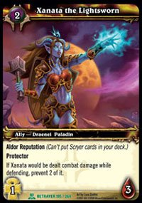 WoW World of Warcraft TCG -- Xanata, the Lightsworn