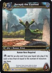 WoW World of Warcraft TCG -- Seraph the Exalted