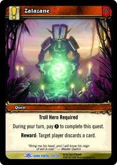 WoW World of Warcraft TCG -- Zalazane