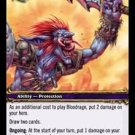 WoW World of Warcraft TCG -- Bloodrage