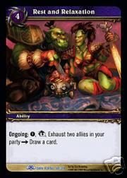 WoW World of Warcraft TCG -- Rest and Relaxation NON-Loot